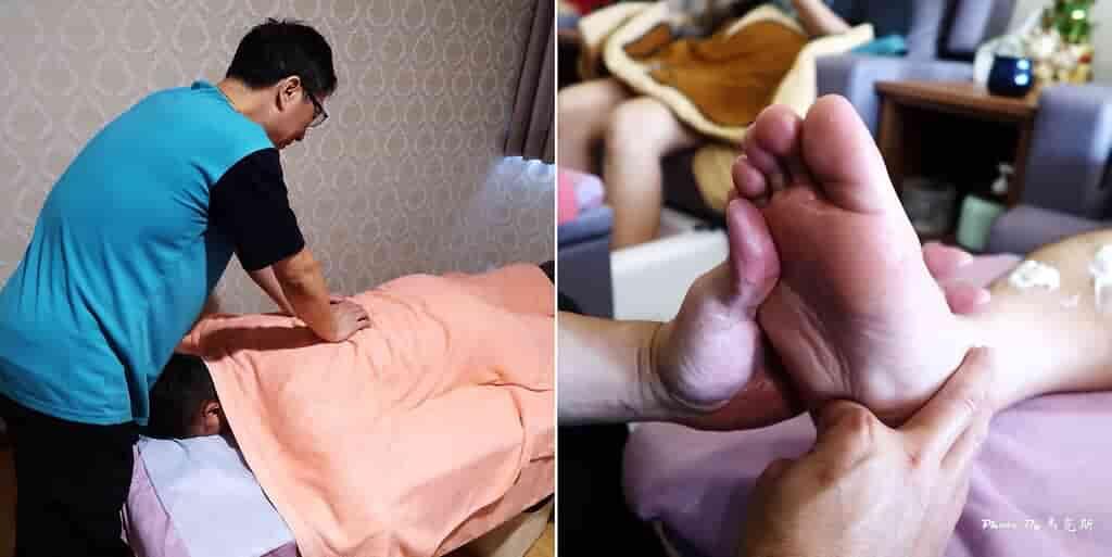 足旺養生會館,腳底按摩+半身指壓組合體驗