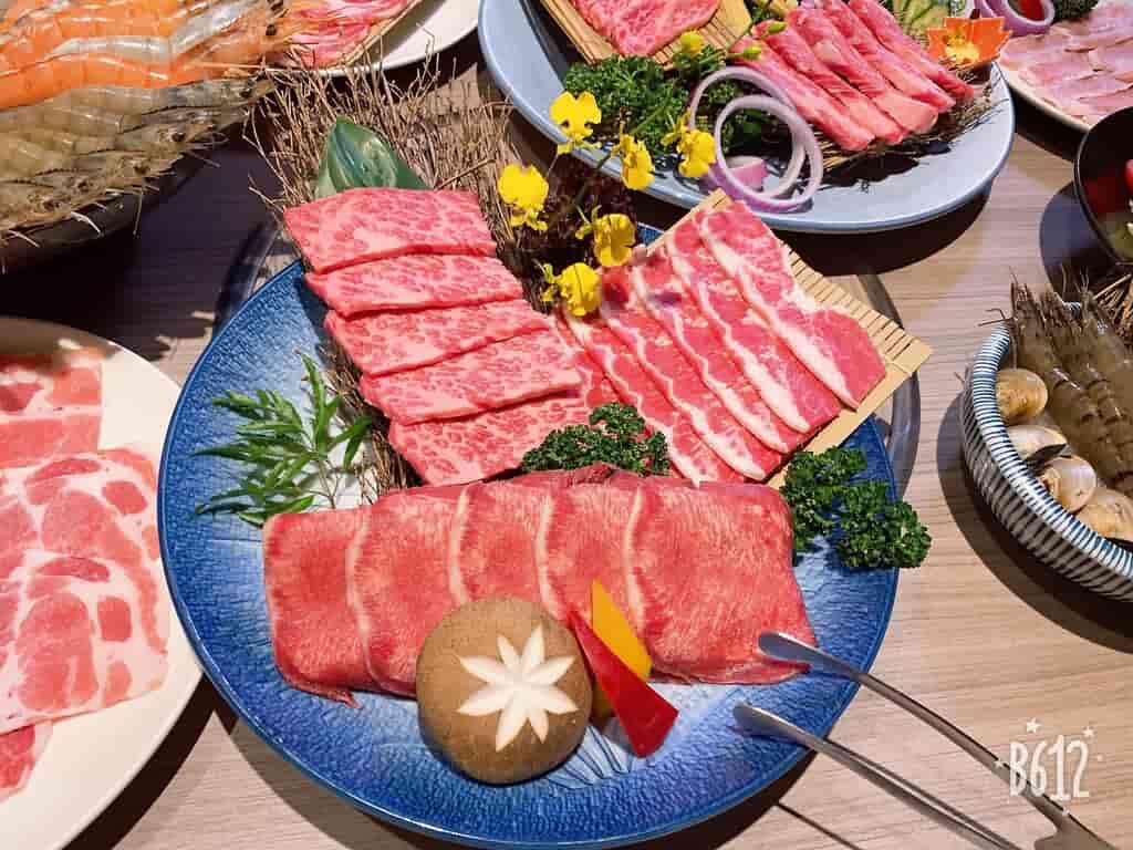 【代發/台中燒烤】羊角炭火燒肉,日澳和牛全餐體驗